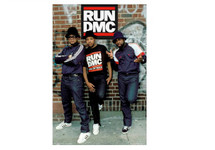 Run DMC Blockmount Wall Hanger