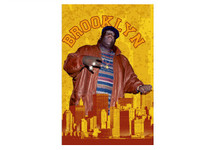 Notorious B.I.G Brooklyn Blockmount Wall Hanger