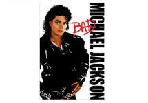 Michael Jackson BAD Blockmount Wall Hanger