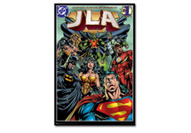 Justive League of America JLA Blockmount Wall Hanger