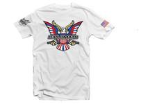 Dipset U.S.A Eagle Logo T-Shirt White