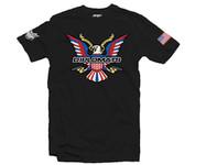 Dipset U.S.A Eagle Logo T-Shirt Black