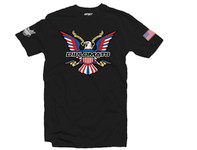 Dipset U.S.A Eagle Logo T-Shirt Black
