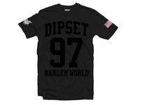 Dipset Harlem World T-Shirt Black