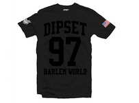 Dipset Harlem World T-Shirt Black