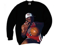 Breezy Excursion Michael Jordan Crew Black