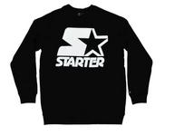 Starter White on Black Crew
