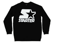 Starter White on Black Crew
