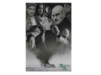 Breaking Bad 'Up in Smoke' Blockmount Wall Hanger