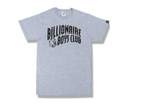 Billionaire Boys Club Grey Logo T-Shirt