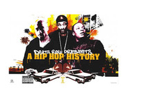 Death Row Presents a Hip Hop History Blockmount Wall Hanger