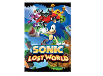 Sonic Lost World Blockmount Wall Hanger