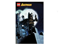 Lego Batman Blockmount Wall Hanger