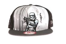 Storm Trooper Star Wars New Era Cartoon Snapback Hat