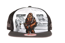 Chewbacca Star Wars New Era Cartoon Snapback Hat