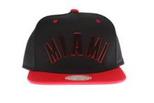 Miami Heat Sonic Mitchell & Ness Snapback Hat