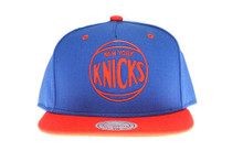 New York Knicks Sonic Mitchell & Ness Snapback Hat