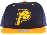 Indiana Pacers Sonic Mitchell & Ness Snapback Hat