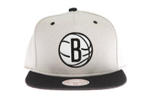 Brooklyn Nets Sonic Mitchell & Ness Snapback Hat