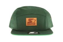 Starter Green 5 Panel - Starter Strapback Hat