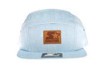 Starter Blue 5 Panel - Starter Strapback Hat
