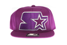 Starter Purple Logo - Starter Snapback Hat