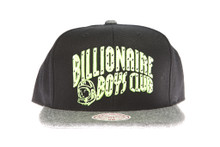 BBC Wool Brim Green Arch Logo - Billionaire Boys Club Snapback