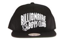 BBC White Arch Logo - Billionaire Boys Club Snapback