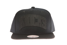 New York Knicks Black Cement - Mitchell & Ness Snapback
