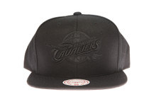 Cleveland Cavaliers Black Out - Mitchell & Ness Snapback Hat