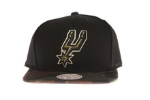 San Antionio Spurs Combat - Mitchell & Ness Snapback Hat