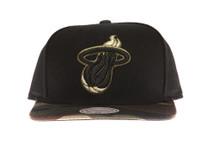 Miami Heat Combat - Mitchell & Ness Snapback Hat