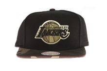 Los Angeles Lakers Combat - Mitchell & Ness Snapback Hat