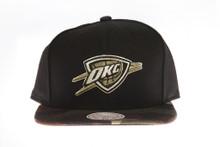 Oklahoma City Thunder Combat - Mitchell & Ness Snapback Hat