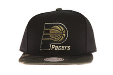 Indiana Pacers Combat - Mitchell & Ness Snapback Hat