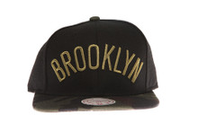 Brooklyn Nets Combat - Mitchell & Ness Snapback Hat