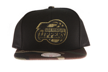 Los Angeles Clippers Combat Cap - Mitchell & Ness Snapback Hat