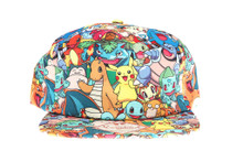 Pokemon! - Officially Licensed Pokemon Snapback Hat