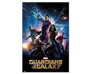 Guardians of the Galaxy Group Moive Blockmount Wall Hanger