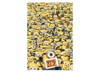 Despicable Me 2 Blockmount Wall Hanger