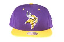 Minnesota Vikings 2Tone Logo - Mitchell & Ness Snapback Hat