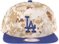 Los Angeles Dodgers Desert Digital Camo New Era Snapback Hat