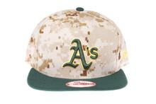 Oakland Athletics Digital Camo New Era Snapback Hat