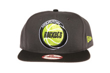 Houston Rockets Fluro Logo Grey New Era Snapback Hat