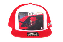 Starter x Boyz in the Hood - Shooter Red and White - Starter Snapback Hat