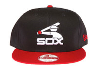Chicago White Sox Batter Logo Dark Navy Blue New Era Snapback Hat