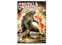 Godzilla Blockmount Wall Hanger