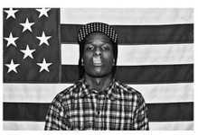 ASAP Rocky Blockmount Wall Hanger Picture