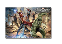 Avengers Movie Lanscape Blockmount Wall Hanger Picture