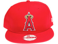 Los Angeles Angels of Anaheim On Field New Era Red Snapback Hat